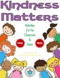 Kindness Matters Activities {FREEbie} #kindnessnation