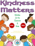 Kindness Matters Activities {FREEbie} #kindnessnation
