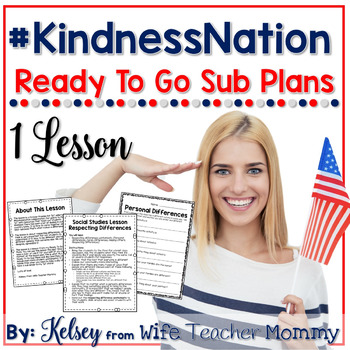 #kindnessnation Sub Plan Lesson: Respecting Differences #weholdthesetruths