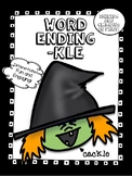 -kle Final Stable Syllable Word Work! - No Prep! Just print and Go!