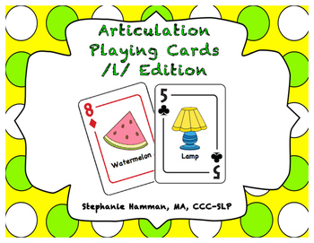 L Articulation Playing Cards