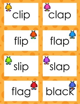 l Blends using Short a and Short i Game