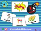 /l/ all positions- Kablam! Speech Sound Series