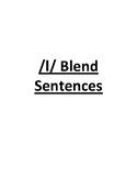 /l/ blend sentences