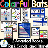 Bats Adapted Books and Activities SPED/ELL/Prek-2