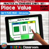Place Value INTRODUCTION 2.NBT.1 BOOM Cards  SET 1