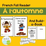 À l'automne French Reader & Build-A-Book for Fall {en français}