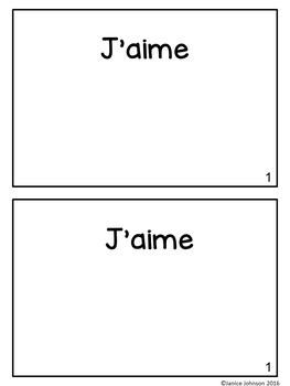 À l'automne French Reader & Build-A-Book for Fall {en français}