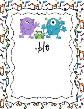 -le Word Sort: Wiggle, Wiggle & Jiggle