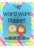 -le Word Work Packet