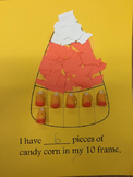 Candy Corn Ten Frame Math