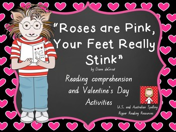 """""""Roses are Pink, Your Feet Really Stink"""" HOT reading tasks"""