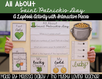 Saint Patrick's Day Lapbook