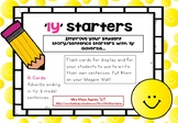 Fronted Adverbials: 'ly' Sentence Starter Flashcards