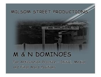 /m/ and /n/ Dominoes