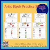 Artic Block Practice Sheets