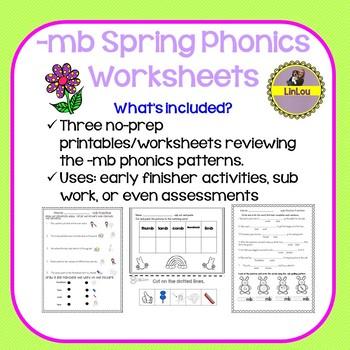 photo relating to Spring Printable Worksheets identified as -mb Spring Phonics Printable/Worksheets