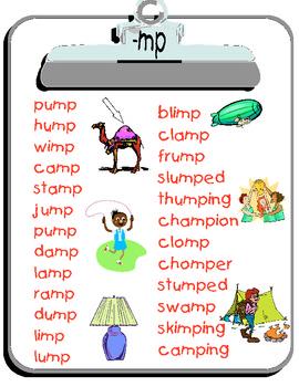 -mp word list