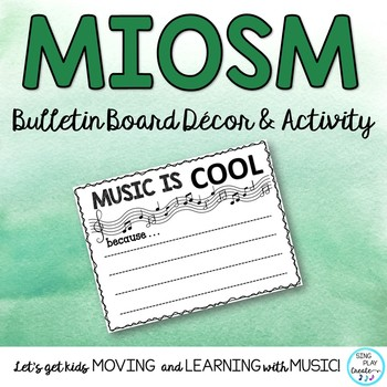 MIOSM: POSTER, CARDS & BULLETIN BOARD