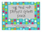 -ng and -nk Phonics Games Pack