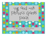 -ng and -nk Phonics Games Pack