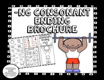 -ng consonant ending - Brochure/Pamphlet - Easy to Fold! Easy to Use!