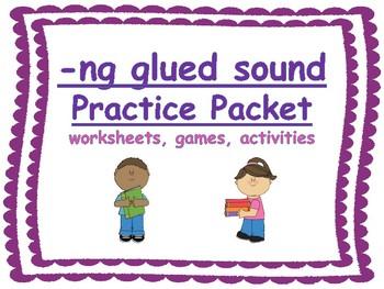 -ng glued sound practice packet