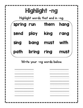 -ng phonics pack!