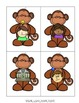 -nk Family Phonics Literacy Center/Game (Monkey Themed)