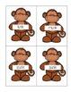 -nk Family Phonics Literacy Center/Game (Monkey Themed)