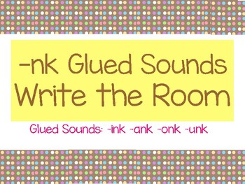 -nk Glued Sounds Write Around the Room