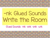 -nk Glued Sounds Write Around the Room