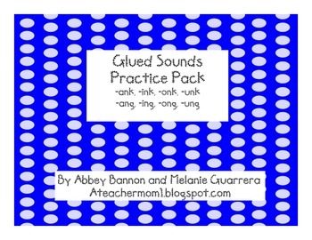-nk and -ng Glued Sounds Practice Pack