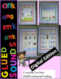 Distance Learning Google Slides Fun Phonics nk and ng endings (First grade)
