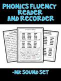 -nk ending (-ank, -onk, -ink, -unk) - Phonics Fluency Assessment