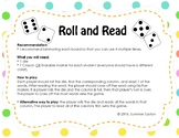 """nk"" & ""ng"" Roll and Read Game"
