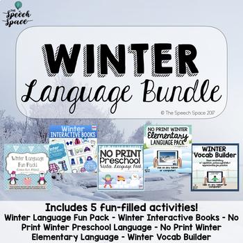 Winter Language Bundle