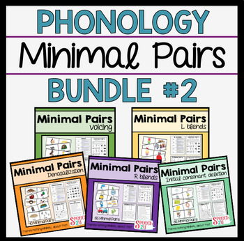 Minimal Pairs Bundle: R and L blends, Voicing, Nasals, Initial Consonant