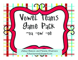-oa, -oe, and -ow Vowel Team Practice Pack