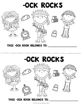 -ock Rocks (ock word family unit)