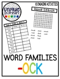 -ock Word Family Pack NO PREP