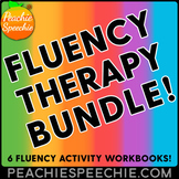 Fluency Therapy Activities BUNDLE (Stuttering Therapy)