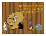 Bear Snores On Book Companion and Theme Pack