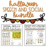 Halloween Speech and Social Bundle
