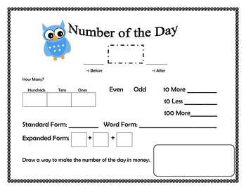 Owl Number of the Day