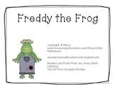 -og Word Family Book - Freddy the Frog FREEBIE