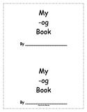 -og Word Family Book (Rhyming)