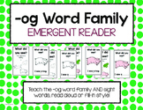 """Emergent Reader: """"-og"""" Word Family"""