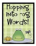 -og Word Family - Frog Theme