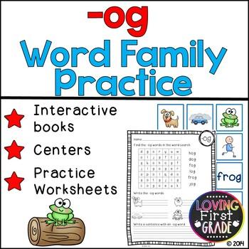 -og Word Family Pack